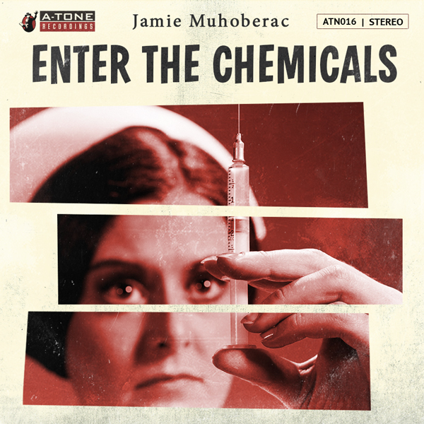 Album art for the SCORE album ENTER THE CHEMICALS by JAMIE MUHOBERAC.