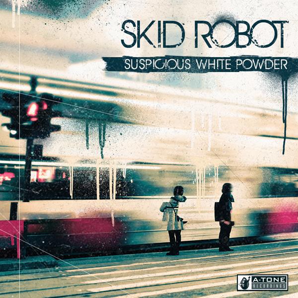 Album art for the ELECTRONICA album SUSPICIOUS WHITE POWDER by SKID ROBOT.