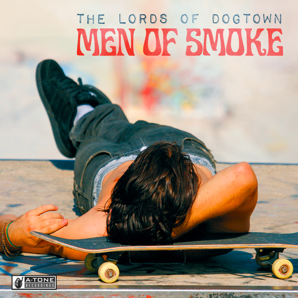 Album art for the JAZZ album MEN OF SMOKE by THE LORDS OF DOGTOWN.