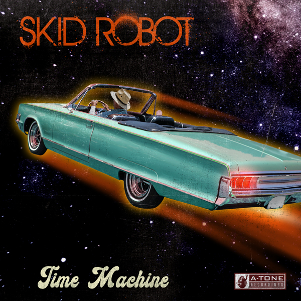 Album art for the ELECTRONICA album TIME MACHINE by SKID ROBOT.
