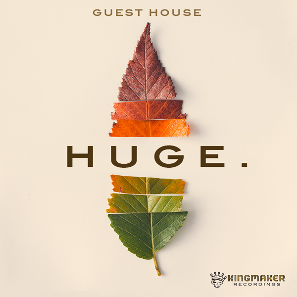 Album art for the POP album HUGE by GUESTHOUSE.