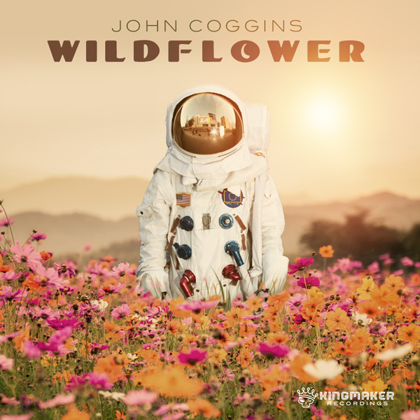 Album art for the POP album WILD FLOWER by JOHN COGGINS.
