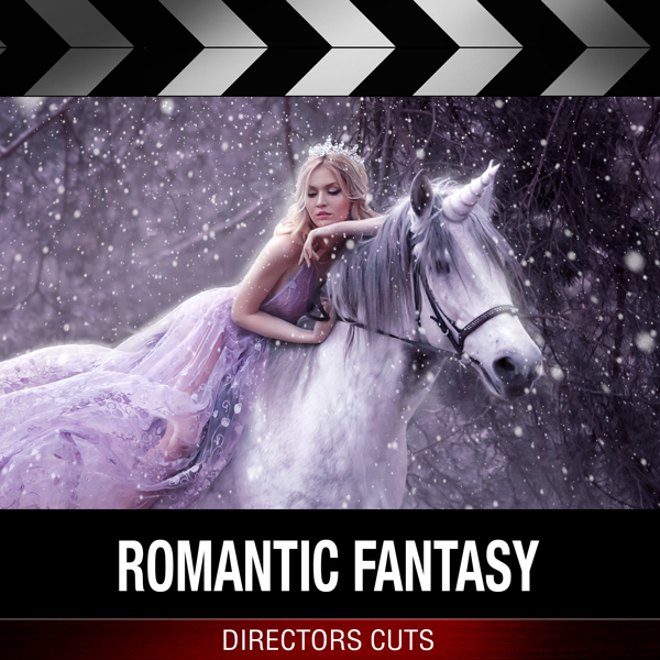 Album art for the SCORE album ROMANTIC FANTASY by FERNANDO VELAZQUEZ.