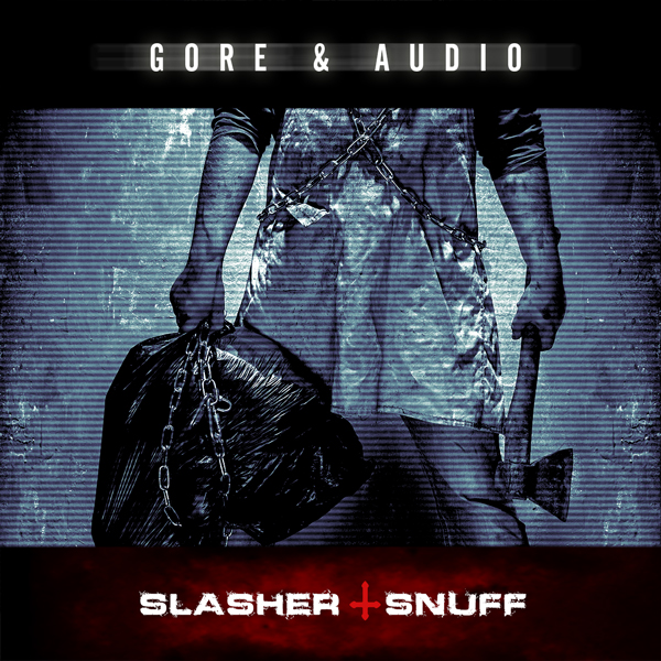 Album art for the SCORE album SLASHER AND SNUFF.