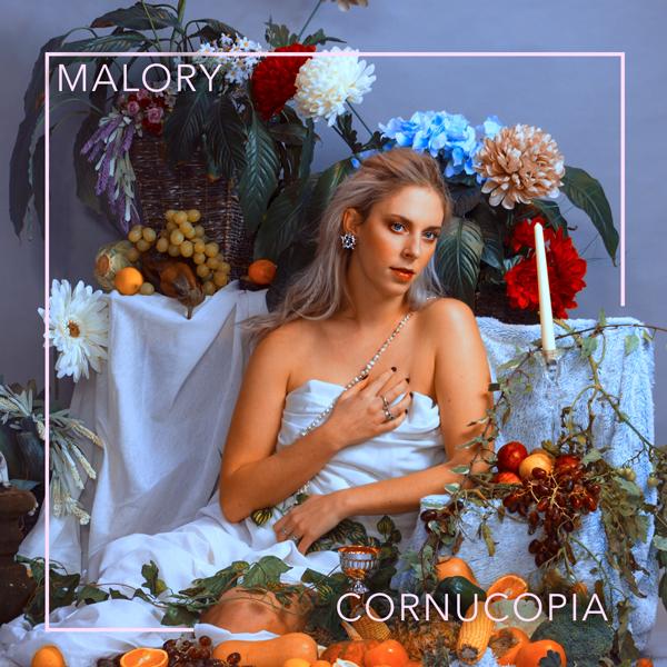 Album art for the POP album CORNUCOPIA by MALORY.