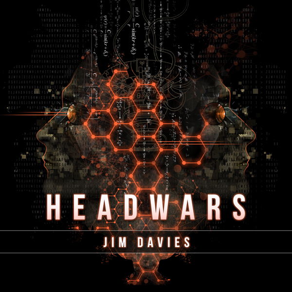 Album art for the ROCK album HEADWARS by JIM DAVIES.