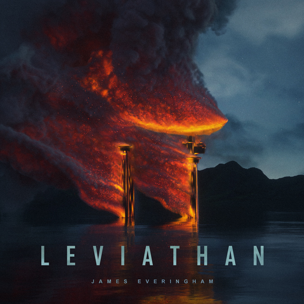 Album art for the SCORE album LEVIATHAN by JAMES EVERINGHAM.