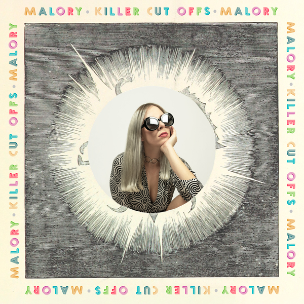Album art for the POP album KILLER CUT OFFS by MALORY.