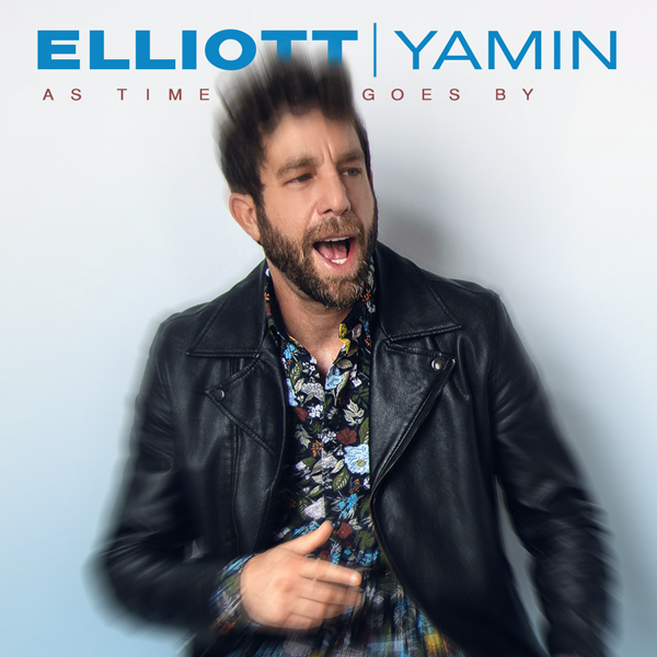 Album art for the POP album AS TIME GOES BY by ELLIOT YAMIN.