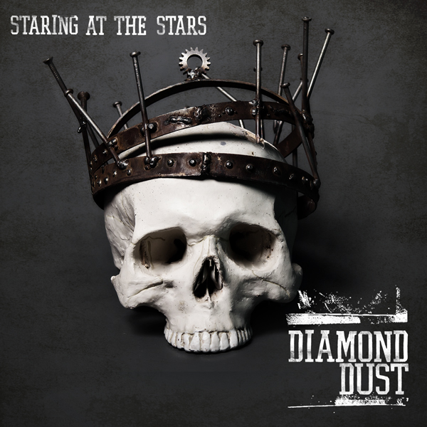 Album art for the ROCK album STARING AT THE STARS by DIAMOND DUST.