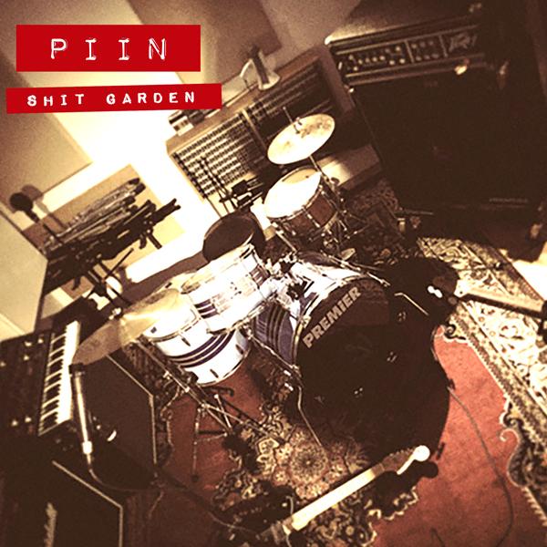 Album art for the ROCK album SH1T GARDEN by PIIN.