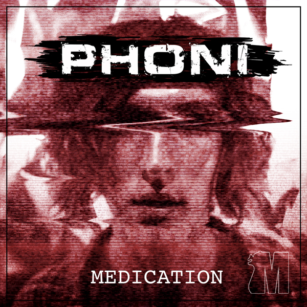 Album art for the R&B album MEDICATION by PHONI.
