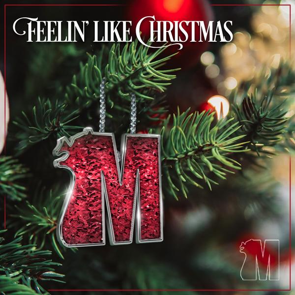 Album art for the HOLIDAY album FEELIN' LIKE CHRISTMAS.