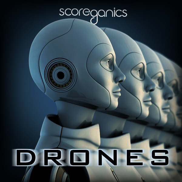 Album art for the ATMOSPHERIC album DRONES.