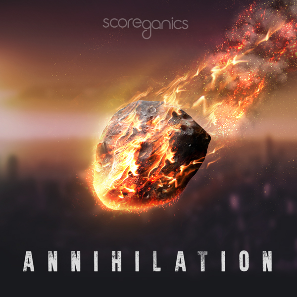 Album art for the SCORE album ANNIHILATION.