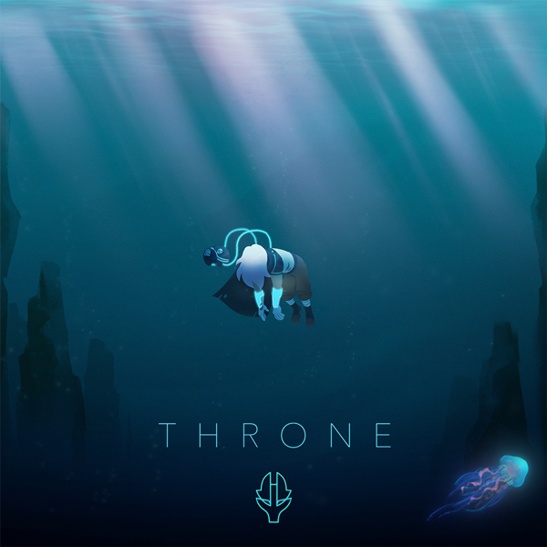 Album art for the POP album THRONE by 5ÖNIKK.
