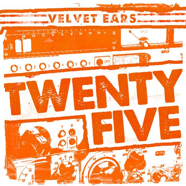 Album art for the ROCK album VELVET EARS 25.