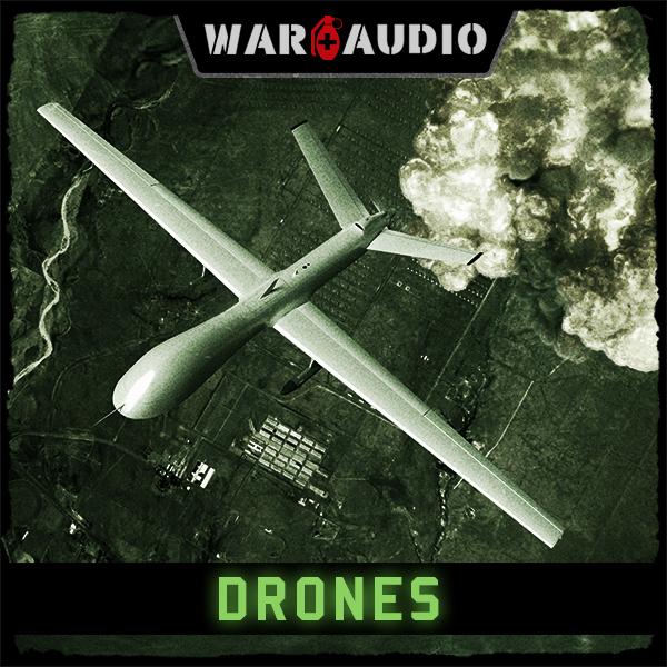 Album art for the ATMOSPHERIC album DRONES.