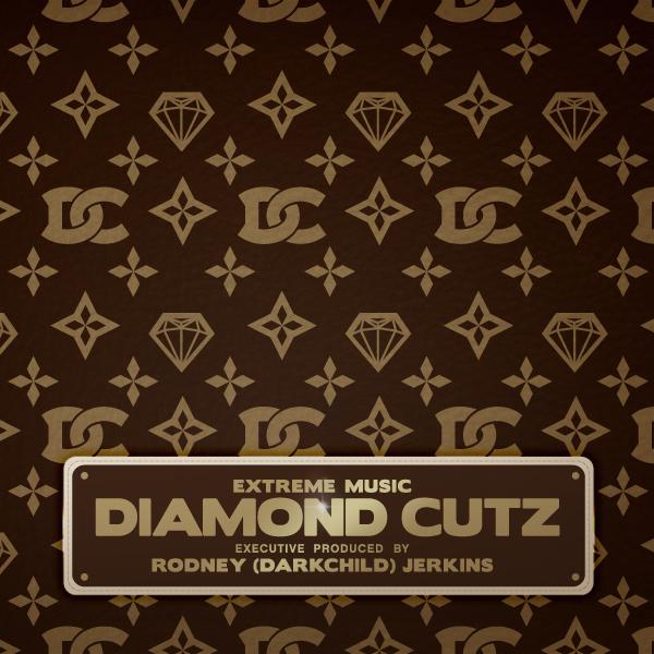 "Album art for the POP album DIAMOND CUTZ by EXECUTIVE PRODUCED BY RODNEY ""DARKCHILD"" JERKINS."