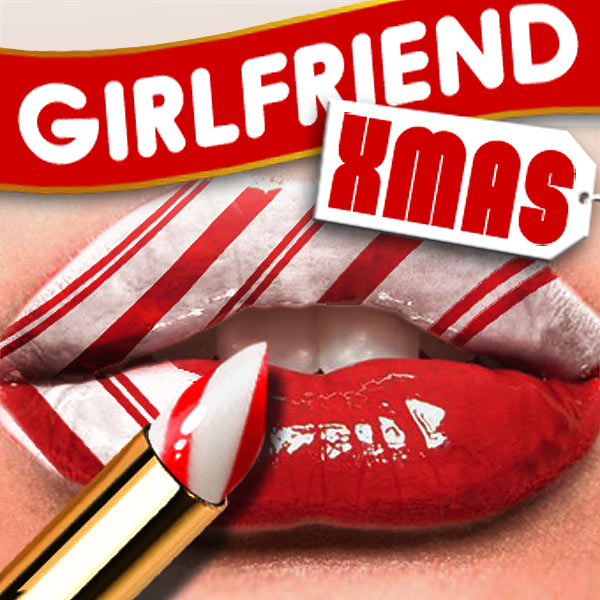 Album art for the HOLIDAY album GIRLFRIEND CHRISTMAS.