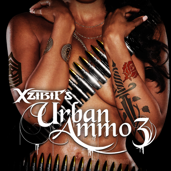 Album art for the HIP HOP album URBAN AMMO 3.