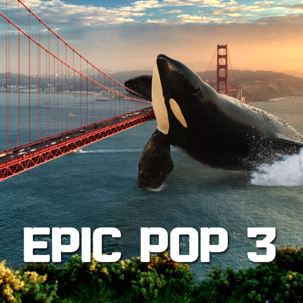 Album art for the POP album EPIC POP 3.