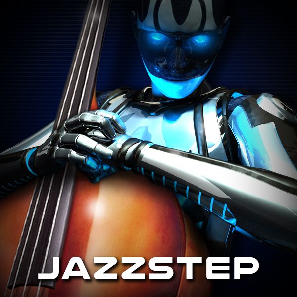 Album art for the ELECTRONICA album JAZZSTEP.