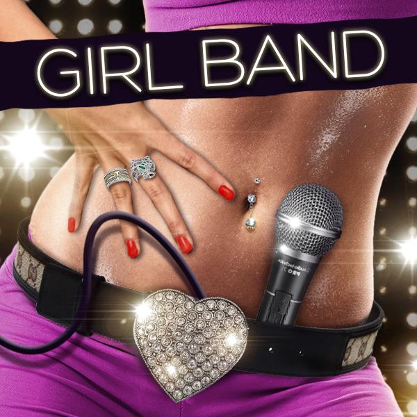 Album art for the POP album GIRL BAND.