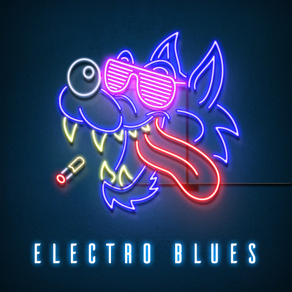 Album art for the POP album ELECTRO BLUES.