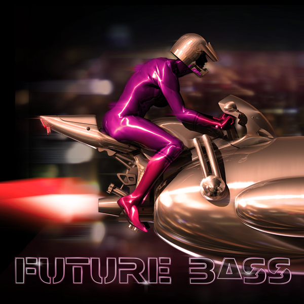 Album art for the ELECTRONIC DANCE MUSIC album FUTURE BASS.