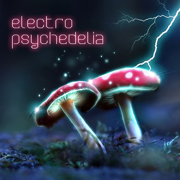 Album art for the ELECTRONICA album ELECTRO PSYCHEDELIA.