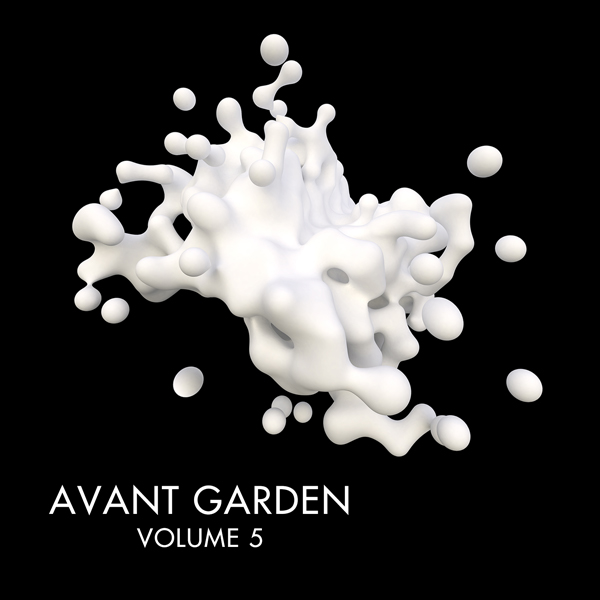 Album art for the ELECTRONICA album AVANT GARDEN VOL.5 by WRITTEN AND PRODUCED BY WRKSHOP.