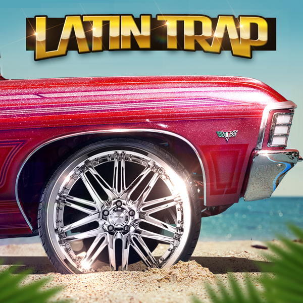 Album art for the HIP HOP album LATIN TRAP.