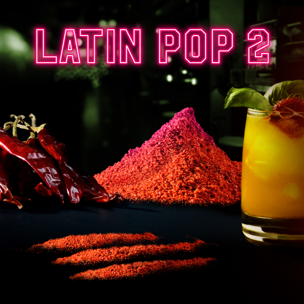 Album art for the POP album LATIN POP 2 by PRESENTED BY DOJO IN THE SKY.