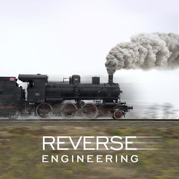 Album art for the SCORE album REVERSE ENGINEERING.
