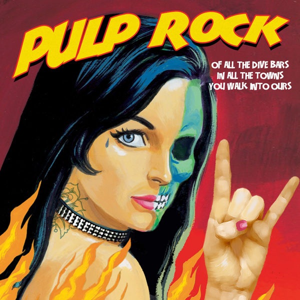 Album art for the ROCK album PULP ROCK.