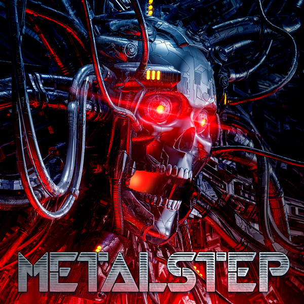 Album art for the ROCK album METALSTEP.