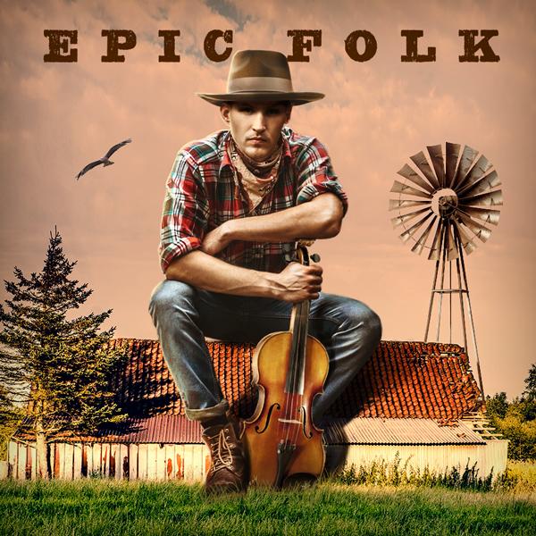 Album art for the FOLK album EPIC FOLK.