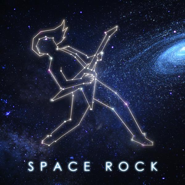 Album art for the ROCK album SPACE ROCK.