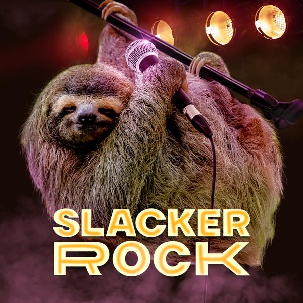 Album art for the POP album SLACKER ROCK.