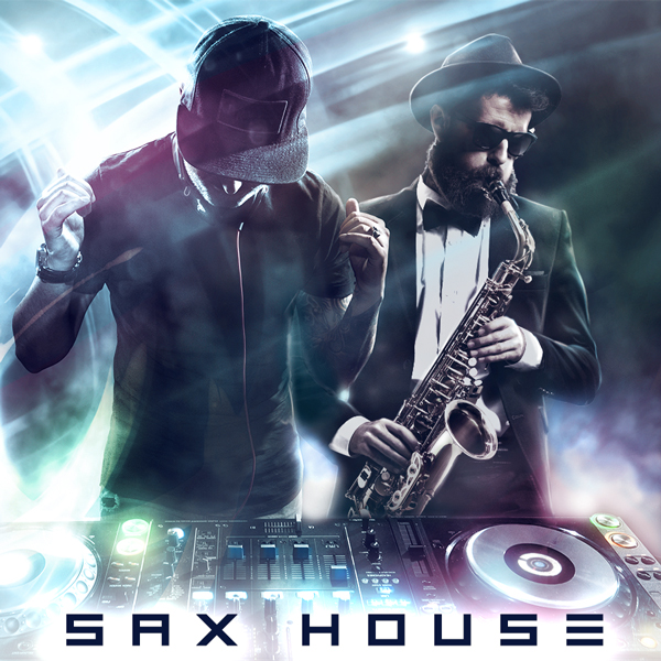 Album art for the POP album SAX HOUSE.
