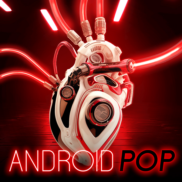 Album art for the POP album ANDROID POP.
