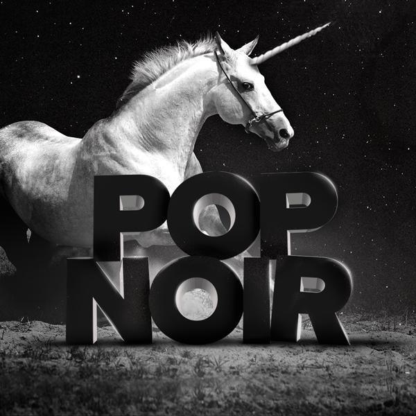 Album art for the POP album POP NOIR.