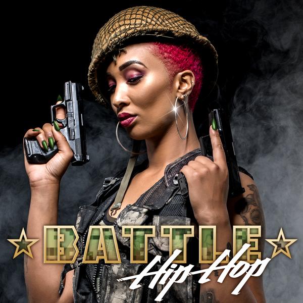 Album art for the HIP HOP album BATTLE HIP HOP.