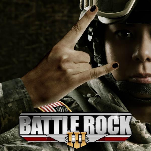 Album art for the ROCK album BATTLE ROCK 3.
