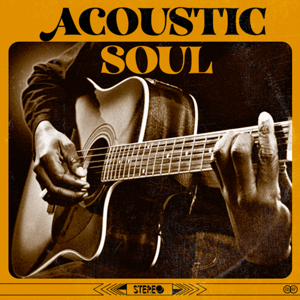 Album art for the R&B album ACOUSTIC SOUL.