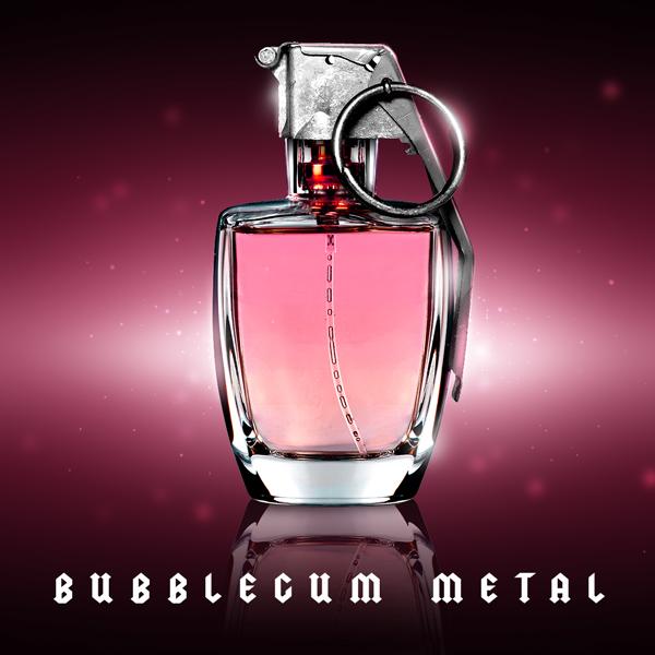 Album art for the ROCK album BUBBLEGUM METAL.