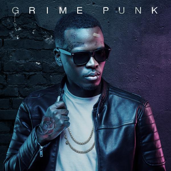 Album art for the HIP HOP album GRIME PUNK.