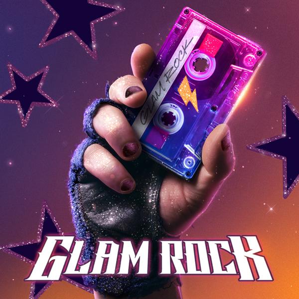 Album art for the ROCK album GLAM ROCK.