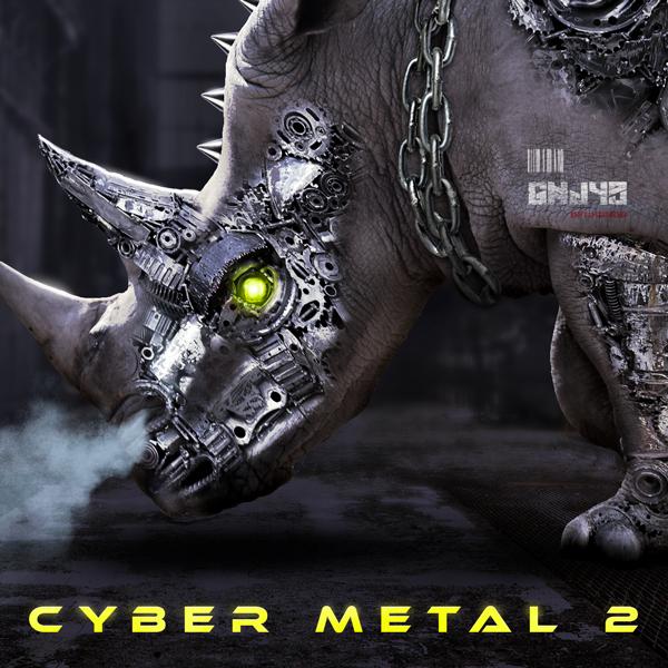 Album art for the ROCK album CYBER METAL 2.
